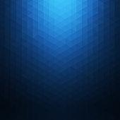 Abstract blue geometric background. Polygonal Mosaic. Creative design templates