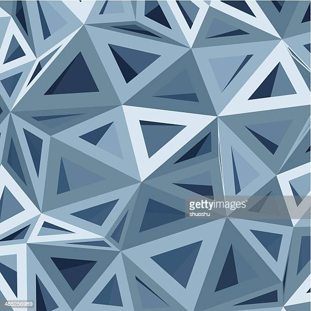 abstract blue geometry pattern background