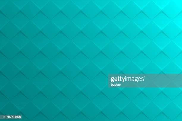 illustrations, cliparts, dessins animés et icônes de fond vert bleu abstrait - texture géométrique - être à l'ombre