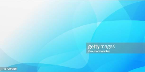illustrazioni stock, clip art, cartoni animati e icone di tendenza di sfondo mezzetono blu astratto - sfocato