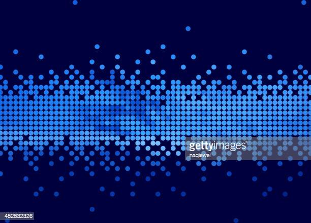 abstract blue polka texture pattern background for design