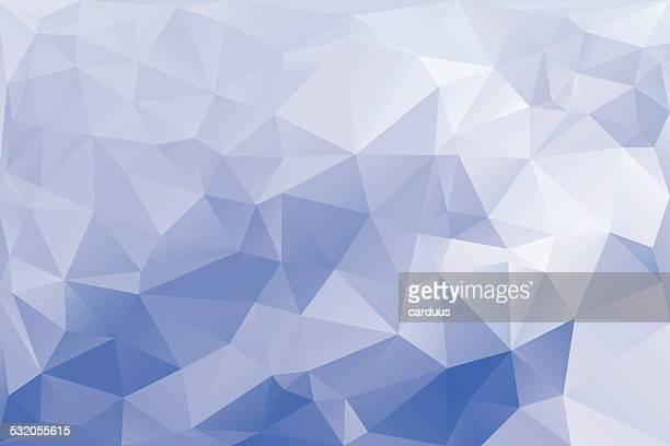 abstract  blue polygonal  background - crystal stock illustrations