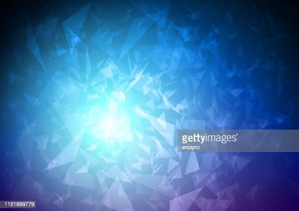 抽象的なブルーポータル - 壊れた点のイラスト素材/クリップアート素材/マンガ素材/アイコン素材