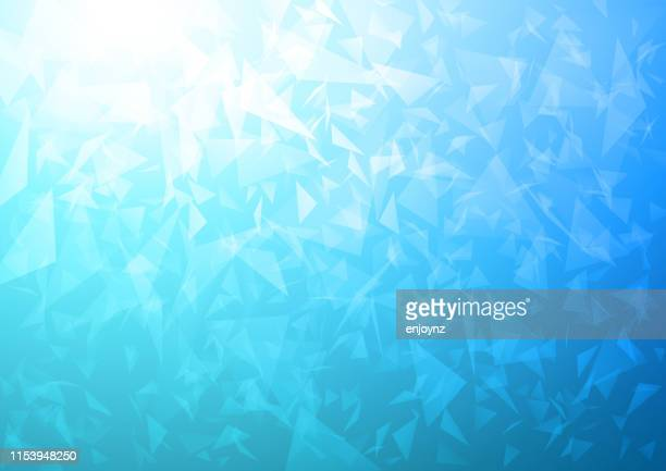abstract blue portal - cold temperature stock illustrations