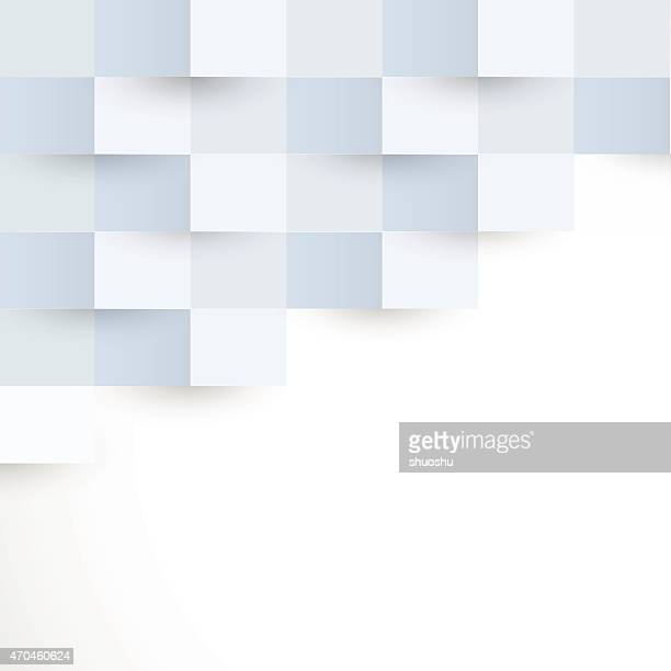 abstract blue rectangle pattern background