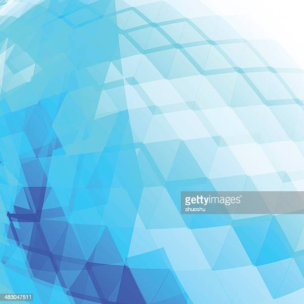 abstract blue technology shape background