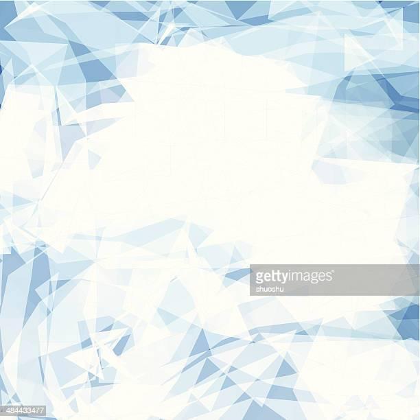 abstract blue transparency shape background