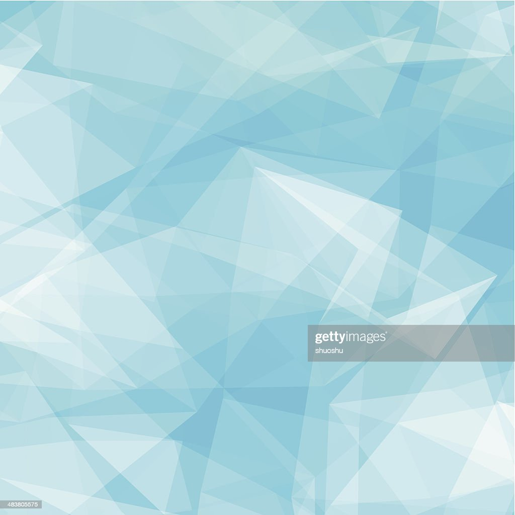 abstract blue transparency technology shape background