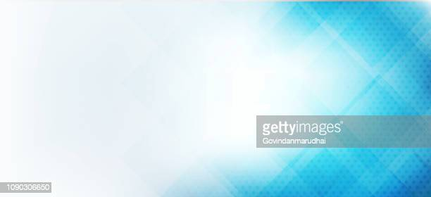 abstract blue triangles geometric background - modern blue background stock illustrations