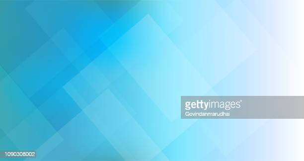 abstract blue triangles geometric background - abstract backgrounds stock illustrations