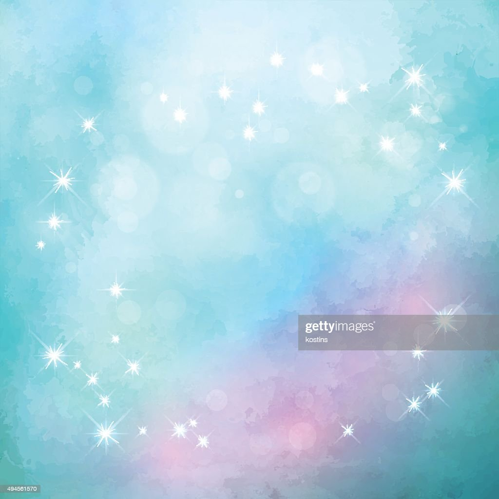 Abstract blue vector Christmas background