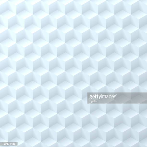 抽象的な青みがかった白い背景 - 幾何学的なテクスチャ - 積み重ねる点のイラスト素材/クリップアート素材/マンガ素材/アイコン素材
