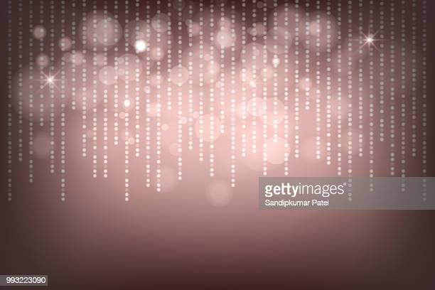 abstract blur and bokeh effect background - brown background stock illustrations