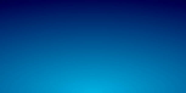 abstract blurred background - defocused blue gradient - cool attitude stock illustrations