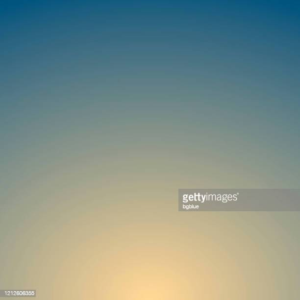 abstract blurred background - defocused blue gradient - beige background stock illustrations