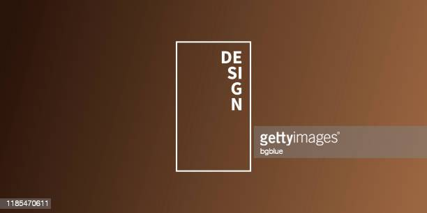 illustrazioni stock, clip art, cartoni animati e icone di tendenza di abstract blurred background - defocused brown gradient - marrone