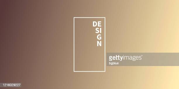 abstract blurred background - defocused brown gradient - beige stock illustrations