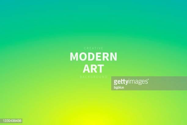 ilustrações, clipart, desenhos animados e ícones de fundo desfocado abstrato - gradiente verde desfocado - fundo amarelo