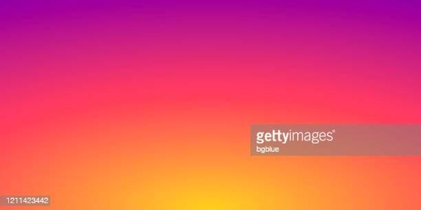 ilustraciones, imágenes clip art, dibujos animados e iconos de stock de fondo borroso abstracto - degradado naranja desenfocado - puesta de sol
