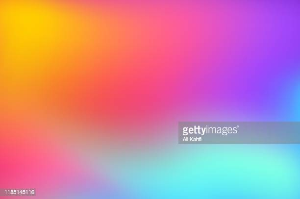ilustrações de stock, clip art, desenhos animados e ícones de abstract blurred colorful background - gradiente de cor