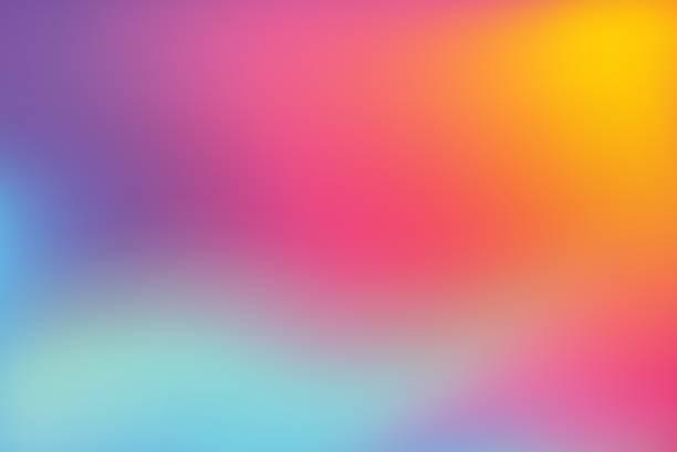 抽象 模糊多彩背景 - 彩色影像 幅插畫檔、美工圖案、卡通及圖標