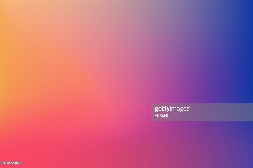 Sfondo colorato sfocato astratto : Illustrazione stock