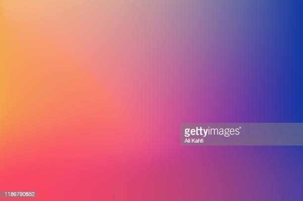 abstract blurred colorful background - colour gradient stock illustrations