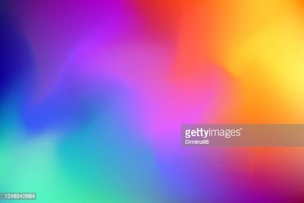 abstrakte verschwommene bunte hintergrund - färbemittel stock-grafiken, -clipart, -cartoons und -symbole