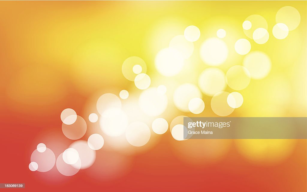Abstract blurred orange background - VECTOR : stock illustration