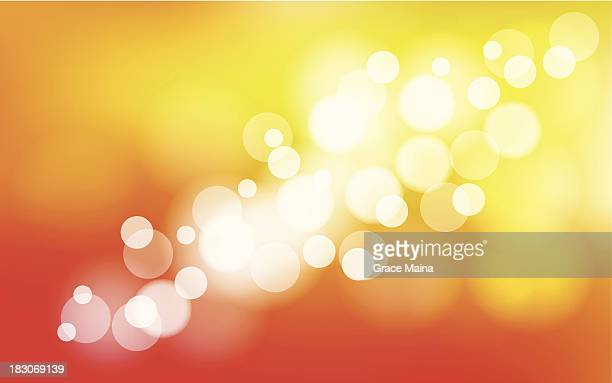 abstract blurred orange background - vector - flare stack stock illustrations, clip art, cartoons, & icons