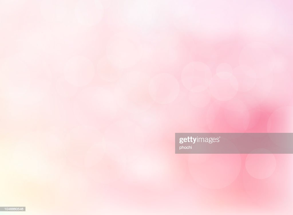 Abstract blurred soft focus bokeh of bright pink color background