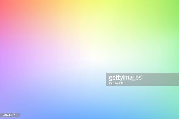 abstract blurry pastel colored background - colored background stock illustrations