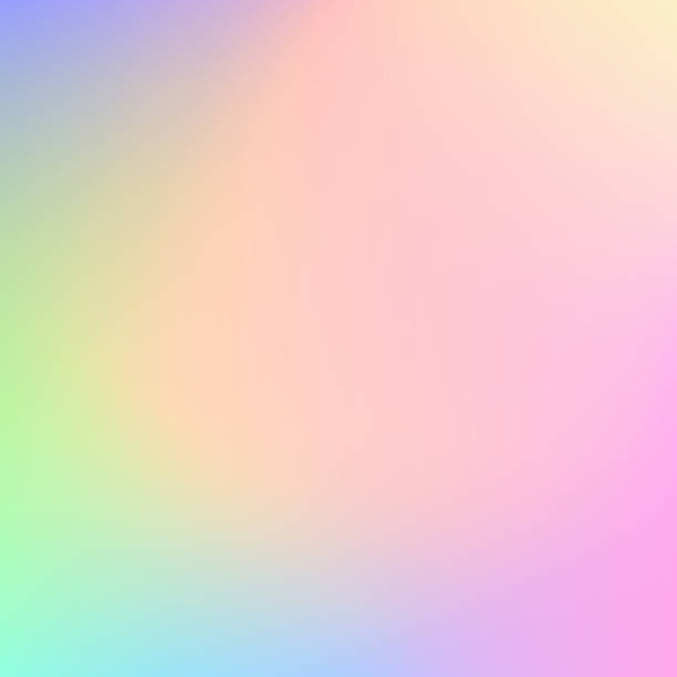 abstract blurry pastel colored background - pastel stock illustrations