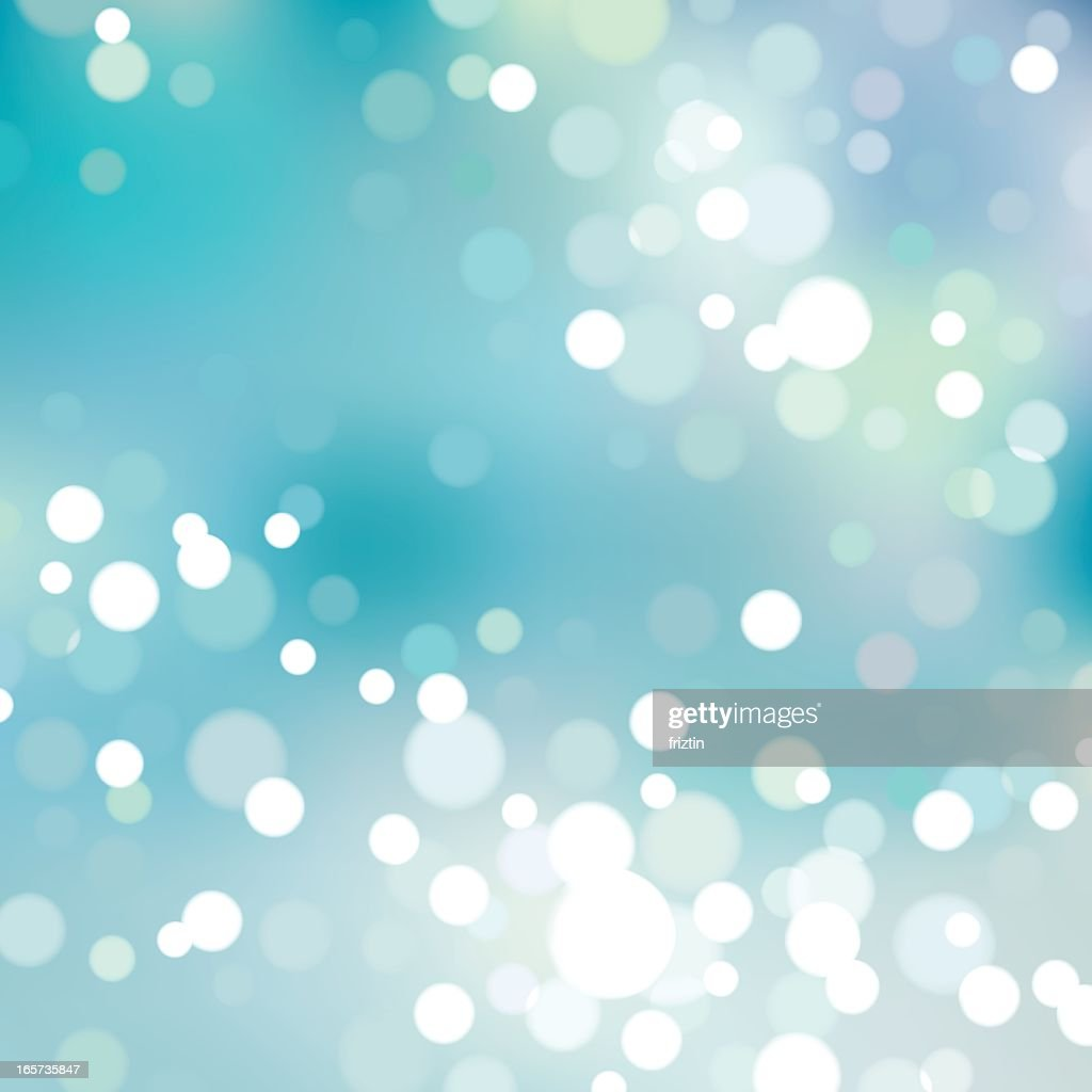 Abstract bokeh background of blue and lights, EPS8