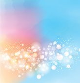 abstract bokeh blue pink Colorful gradient backgroun