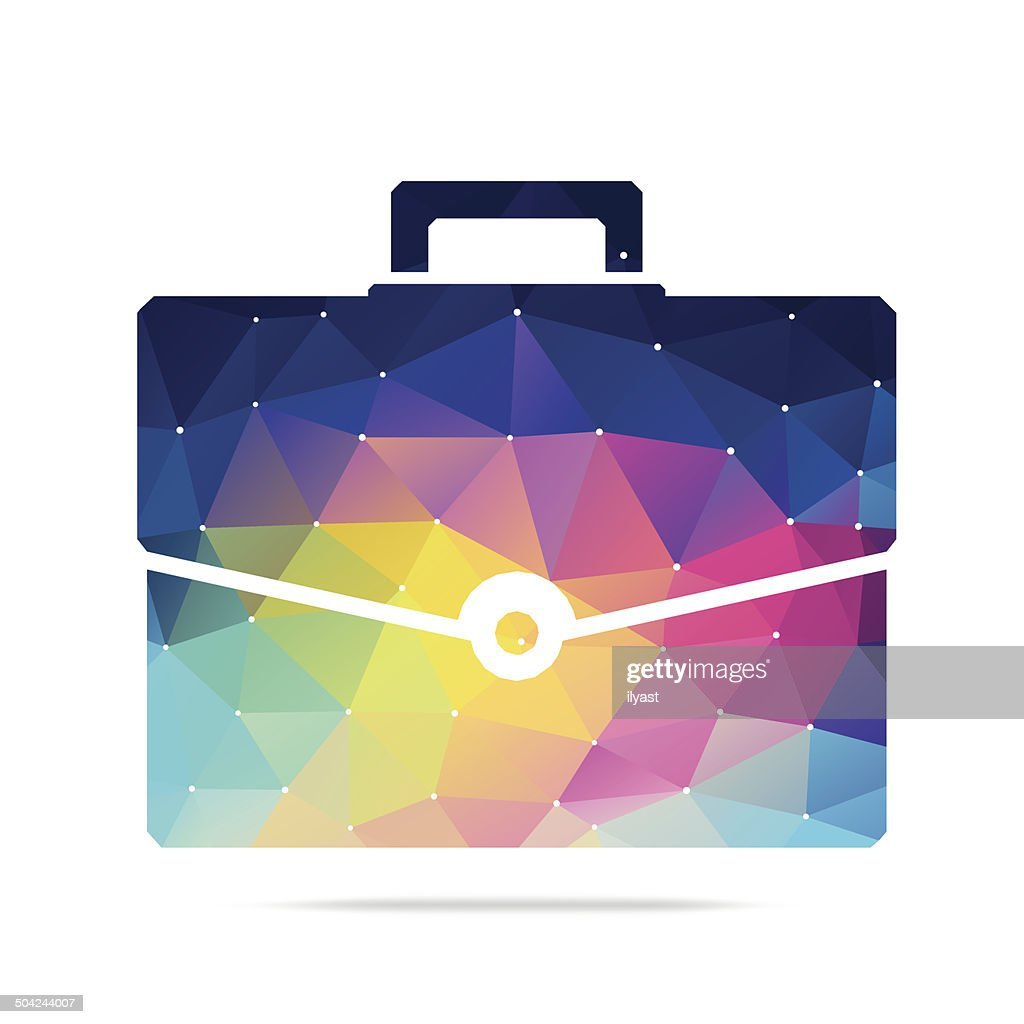 Abstract Briefcase