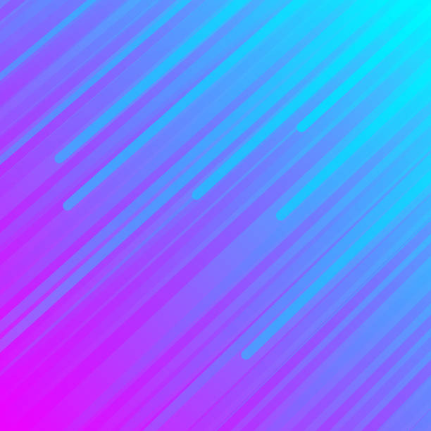 abstract bright blue pink background - cool attitude stock illustrations
