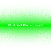 Abstract Bright Light Green Technology Business Cover Background