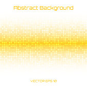 Abstract Bright Light Honey Yellow Orange Technology Business Cover Background