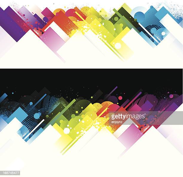 Abstract bright rainbow backgrounds