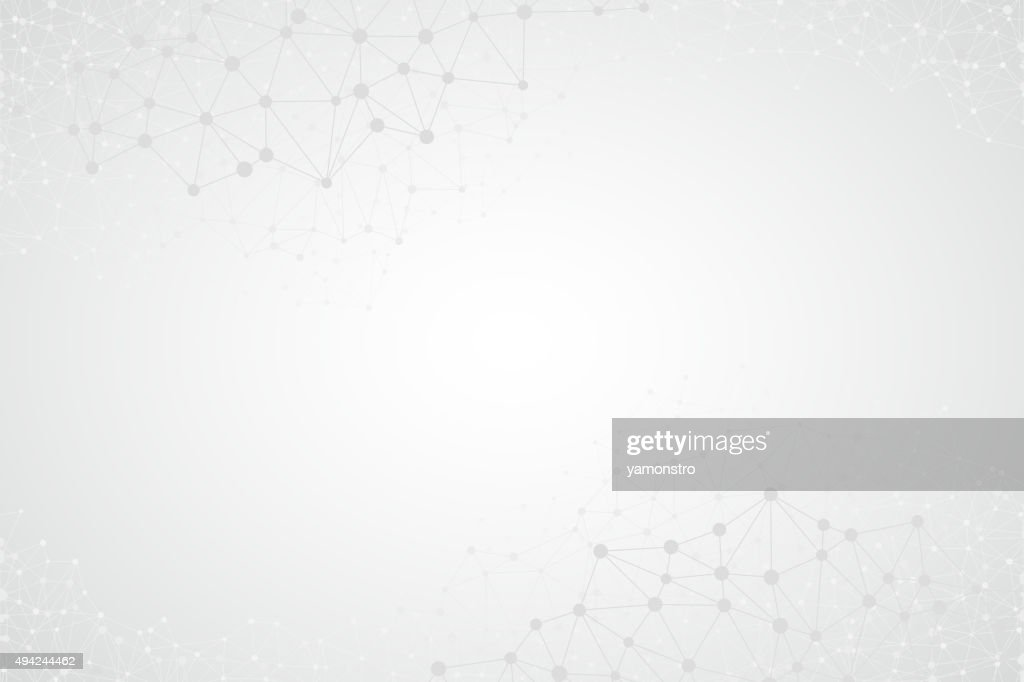 Abstract Bright Simple Tech Vector Background