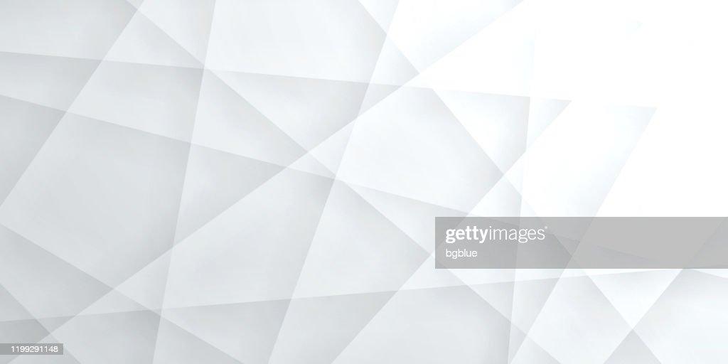 Abstrakte helle weiße Hintergrund - geometrische Textur : Stock-Illustration