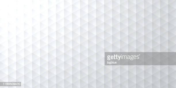 抽象的な明るい白の背景 - 幾何学的なテクスチャ - 三角形点のイラスト素材/クリップアート素材/マンガ素材/アイコン素材