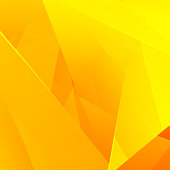 Abstract Bright Yellow Background