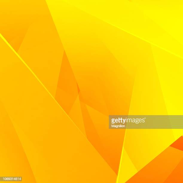 abstract bright yellow background - abstract backgrounds stock illustrations