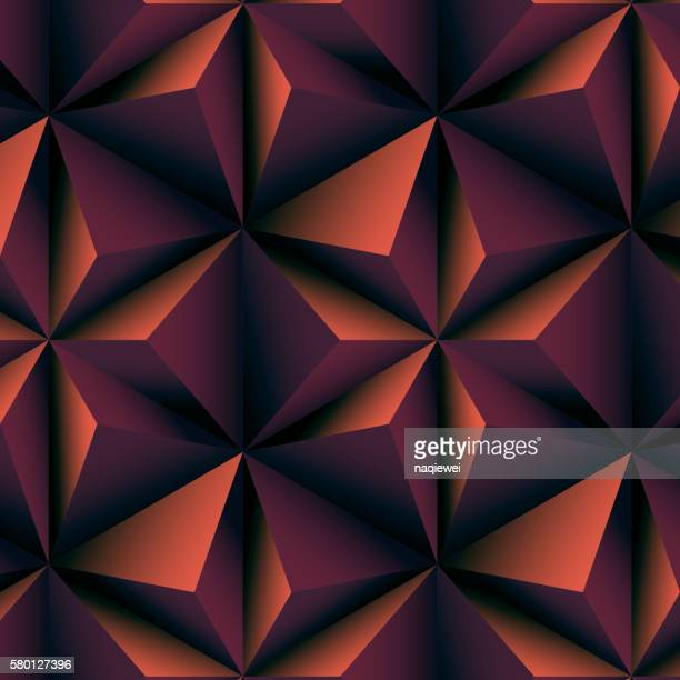 abstract brown polygonal background