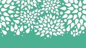abstract bursts seamless pattern background horizontal border