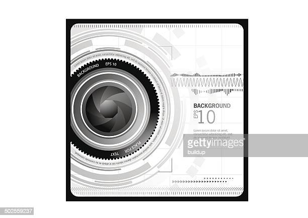 abstract camera background - video camera stock illustrations, clip art, cartoons, & icons