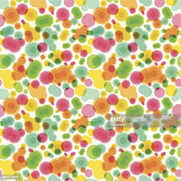 Abstract Cell Bilogy Seamless Pattern