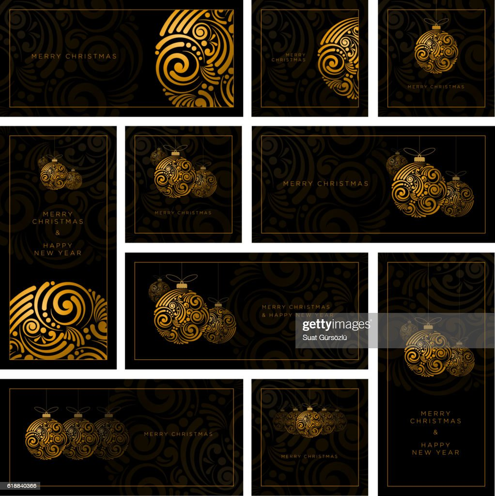 Abstract Christmas Design Collection